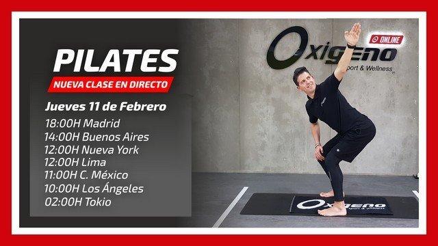 Pilates en Directo 11/02
