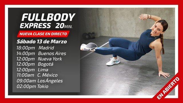 Directo FullBody Express 13/03