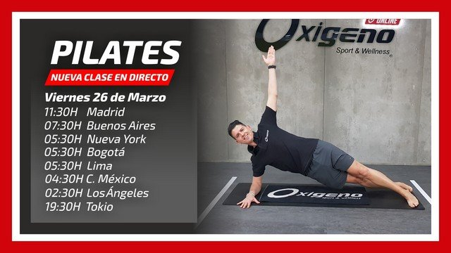 Pilates en Directo 26/03