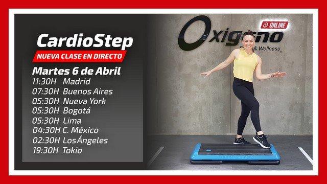 CardioStep Online en Directo 06/04