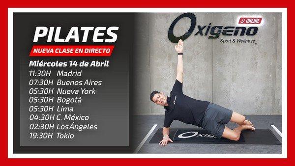 Pilates Online en Directo 08/04/21